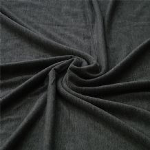 Charcoal Grey - Viscose Elestane